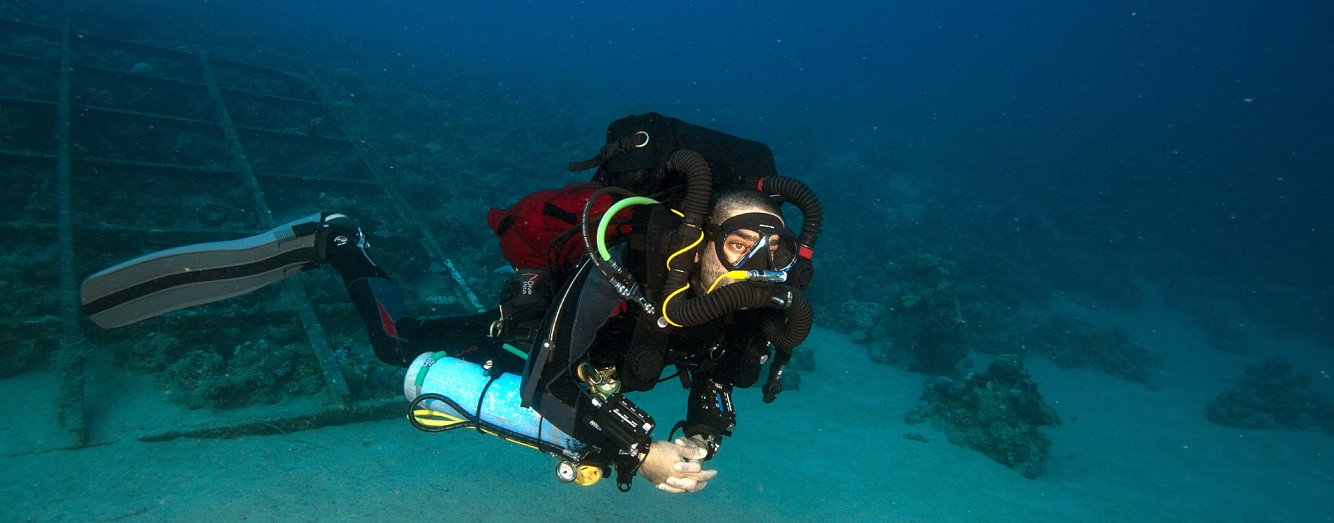 First to teach Rebreathers